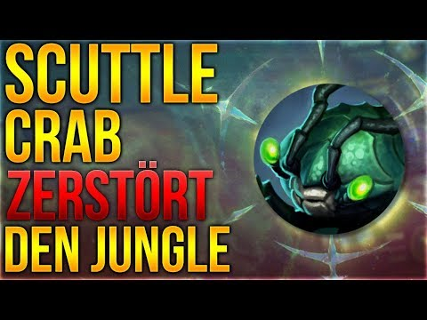 Scuttle Crab zerstört den Jungle [League of Legends] [Deutsch / German]