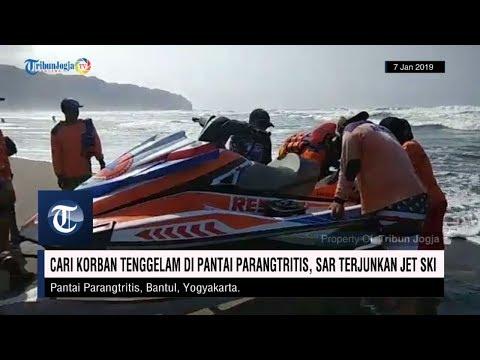 Cari Korban Tenggelam di Pantai Parangtritis, SAR Terjunkan Jet Ski