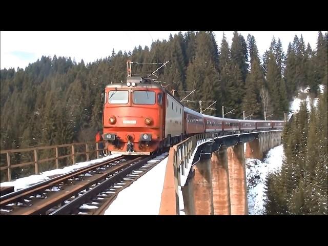 Toate trenurile filmate in zona Silhoasa  - Gradinita in 9 misiuni (2010, 2014, 2016 si 2017)