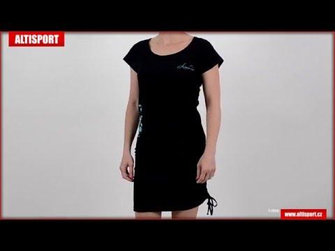 dámská šaty alpine pro enif černá