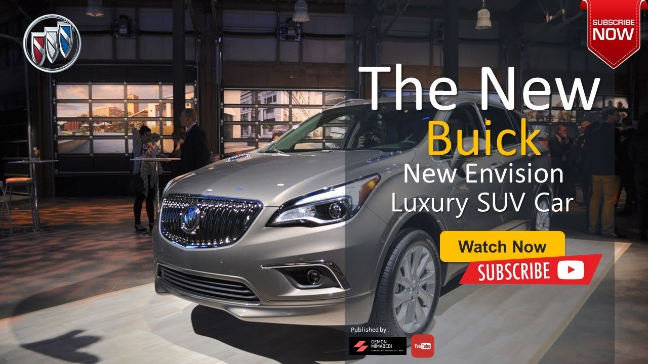 The 2020 Buick New Envision Luxury Suv High End Car New Features Latest