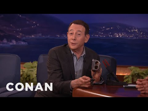 Paul Reubens' Crazy Collection Of Stuff   CONAN on TBS