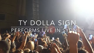 ♫ Paranoid | Ty Dolla Sign performs live @ YG Concert! | Sydney 2015