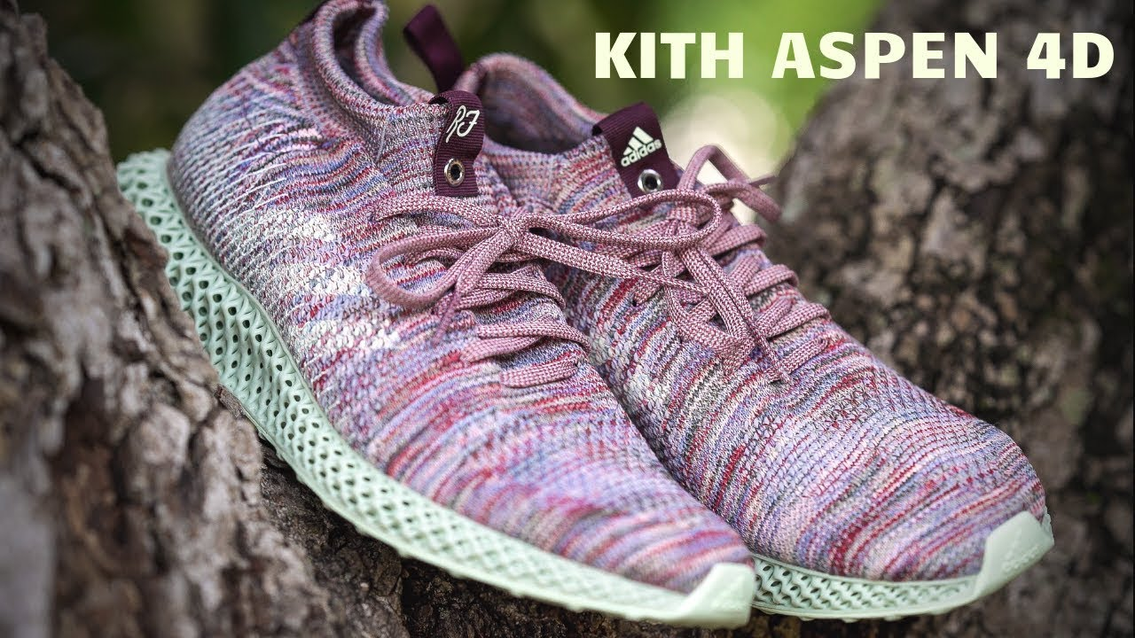buy online 68610 2ff97 ONLY 800 PAIRS in the WoRLD! KITH + ADIDAS FutureCraft ASPEN 4D (ON FEET)