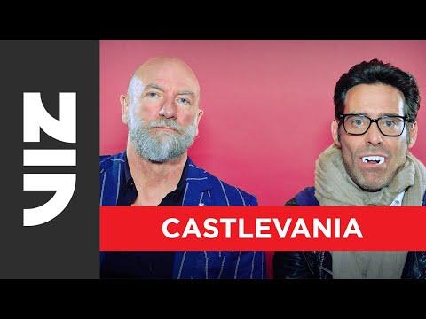 Castlevania Word Unscramble With Graham McTavish And James Callis   Castlevania Season 2   VIZ