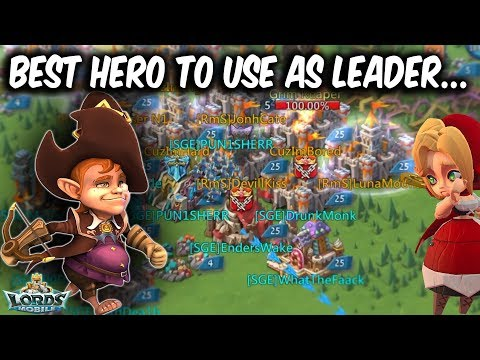 All These Heroes And You Choose Trickster As Leader - Lords Mobile