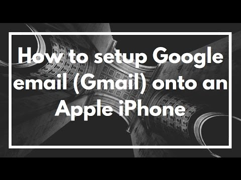 How to set my gmail account on iphone