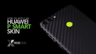 How to apply an Huawei P Smart skin | XtremeSkins