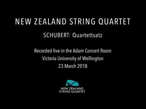 Schubert  - Quartettsatz (complete live performance)