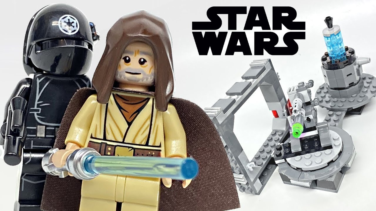 Lego Star Wars Death Star Canon Review 2019 Set 75246 Youtube