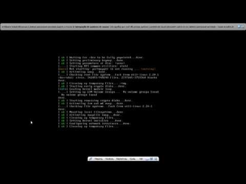 Decompressing Linux... Parsing ELF.. Erro Kali linux com Virtualbox