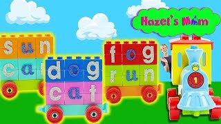 Let's go for a train ride! | Learning Words | Educational Videos for Preschoolers