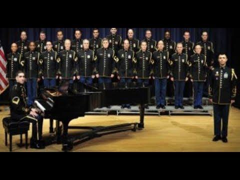 U.S. Army Chorus Pop-Up Performance