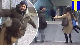 Карманный вор избил поймавшую его женщину