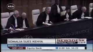 Somalia sues Kenya at the international court of justice over border
