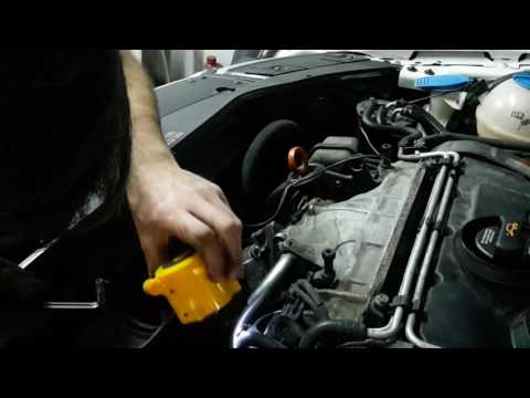 How to remove and clean EGR and throttle body on Passat b6 BKP engine