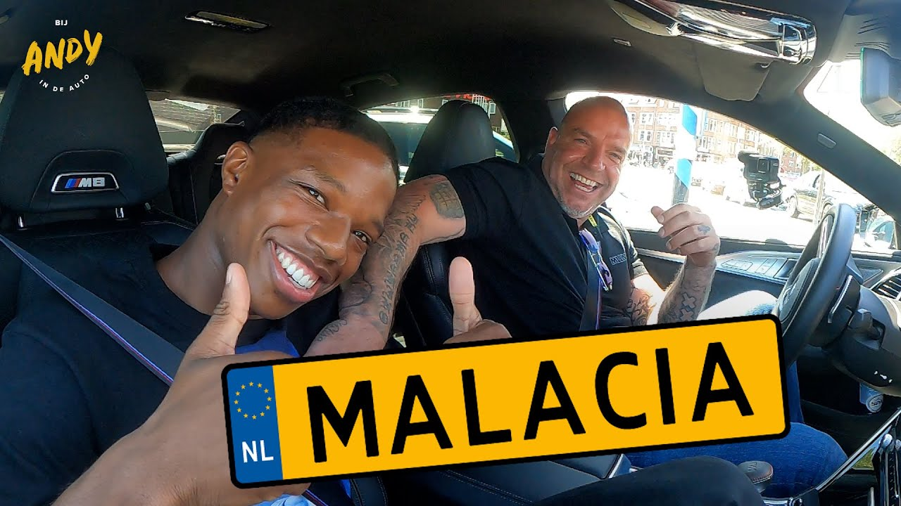 Tyrell Malacia –  Bij Andy in de auto!