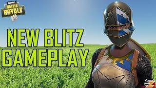LUCKIEST ESCAPE EVER! - Fortnite Battle Royale New Blitz Gameplay!