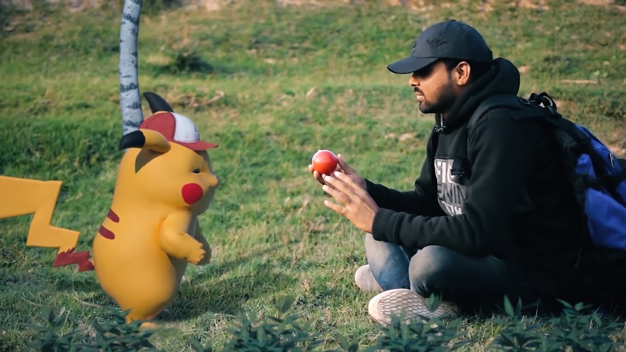 Pokemon in Real Life    Don't Trust Your Pikachu
