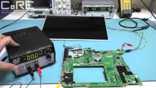 Не работает LED матрица ноутбука. Разбираемся почему.