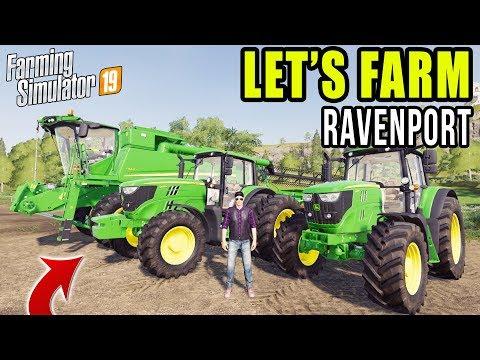LET'S FARM RAVENPORT EP#1   FARMING SIMULATOR 2019   MULTIPLAYER