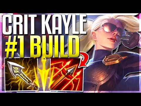 CRIT KAYLE REWORK IS 100% HER BEST BUILD!! 1v9 Late Game - Kayle Rework Gameplay - League of Legends thumbnail