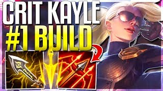 CRIT KAYLE REWORK IS 100% HER BEST BUILD!! 1v9 Late Game - Kayle Rework Gameplay - League of Legends