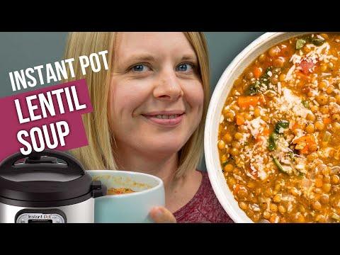 the-best-instant-pot-lentil-soup-recipe- -no-sauteing