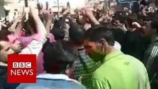 Syria: 5 year milestone since protests lead to civil war - BBC News