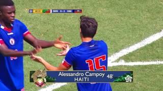 CU20 2017: St Kitts & Nevis vs Haiti Highlights