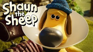 Kerucut Pelindung [Cone of Shame] | Shaun the Sheep | Full Episode | Funny Cartoons For Kids