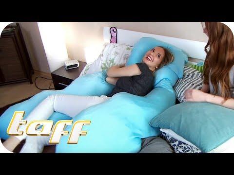 RIESEN KUSCHELKISSEN aus Japan für 150 € - Besser schlafen mit diesen Helfern!   taff   ProSieben