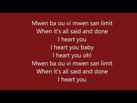 I heart you paroles Harmonik