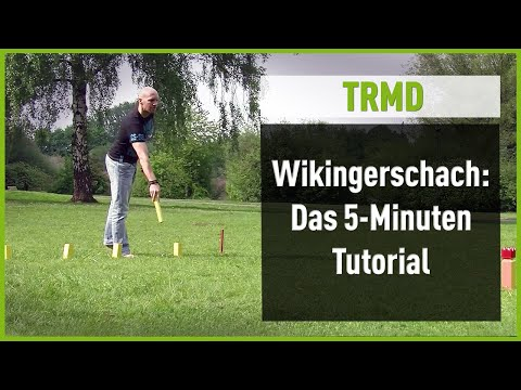 "Video: Originalt vikingaschack: ""Kubb"""