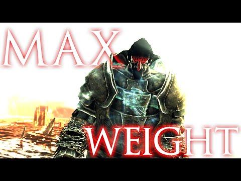 Maximum Weight Possible in Dark Souls 2?