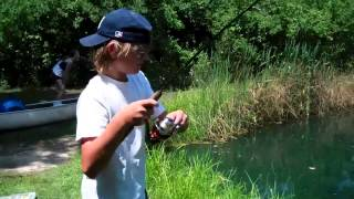 Catching BIG fish at a very small pond!