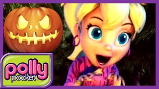 Polly Pocket | The monster in the woods - Spooky Tales 🎃  Halloween | Cartoons for Children thumbnail