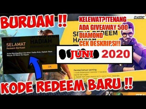 BURUAN!!REDEEM CODE FF TERBARU JUNI 2020 DIAMOND+MAGIC ...