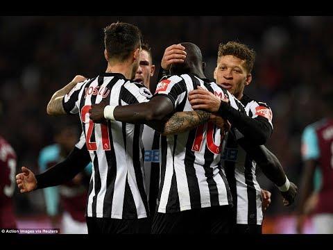 West Ham United 2-3 Newcastle United: Henri Saivet, Mohamed Diame and Christian Atsu