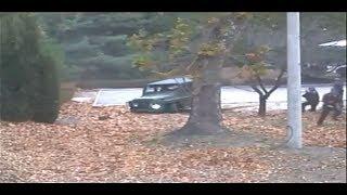 유엔사가 공개한 북한군 귀순 당시 CCTV 영상