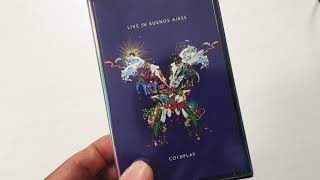 Baixar Cassette Tape Unboxing - Coldplay Live in Buenos Aires