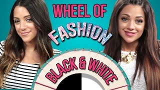 How to Mix Black and White Flawlessly with Niki and Gabi