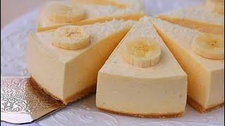 Банановый чизкейк (легко и вкусно)!!!