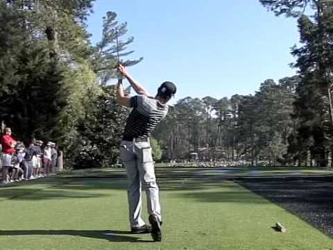 Camilio Villegas swing - Down the Line