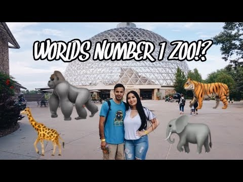 A Day At The #1 Zoo In The World | Omaha Henry Doorly Zoo! | Spanglish & Mongolian