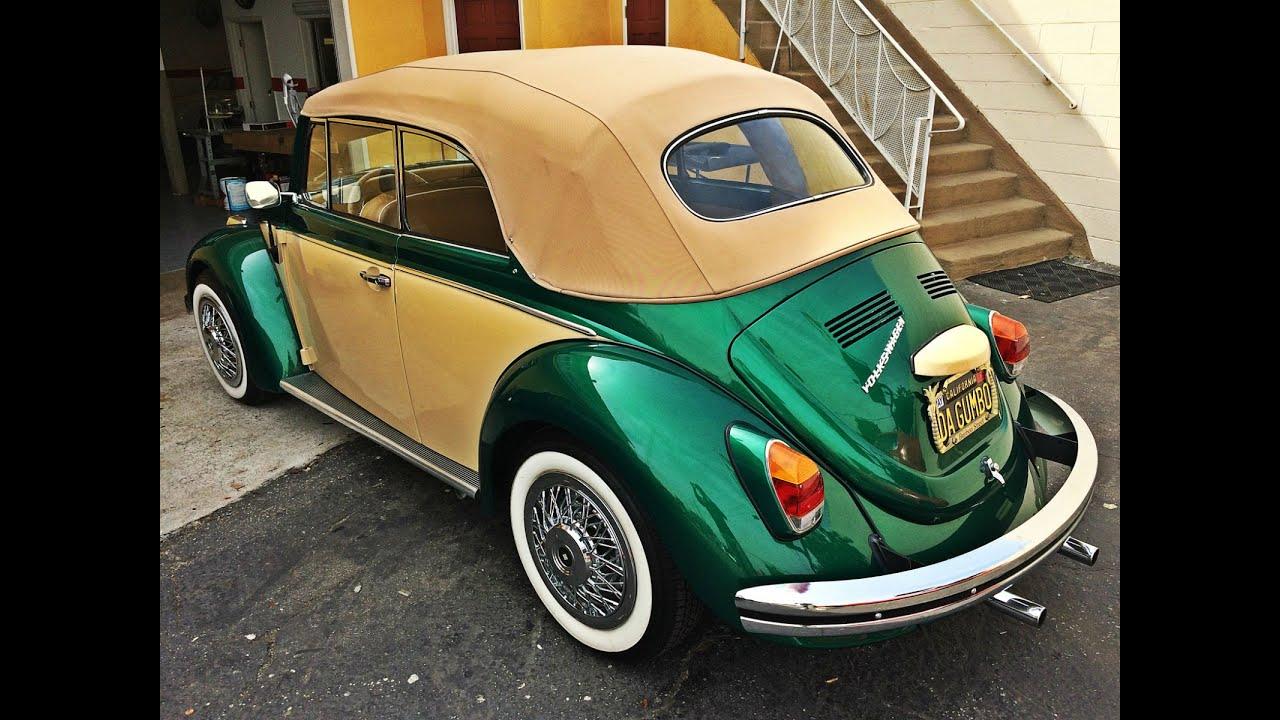 Vw Beetle Convertible >> Volkswagen Beetle Bug convertible top replacement - YouTube