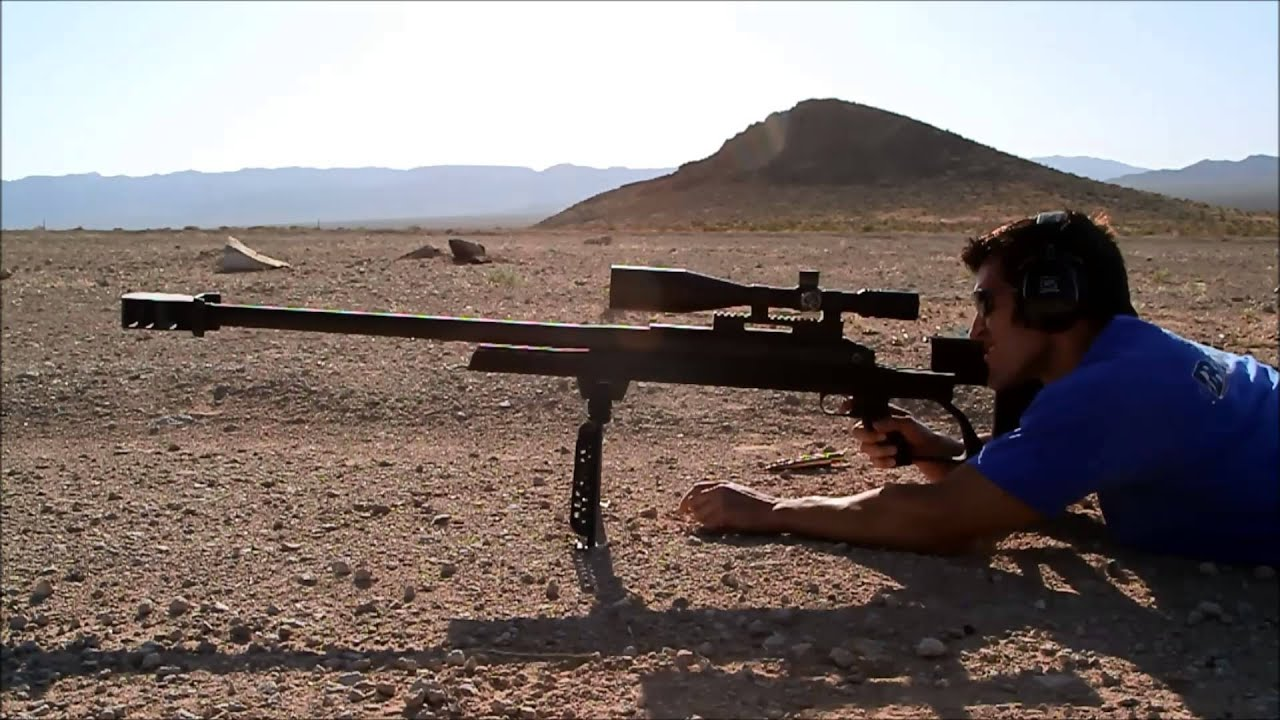 Shooting the armalite ar 50 youtube for Mobilia 50 ar