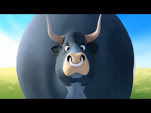 Cow rhymes for children | New Cartoon | New Song