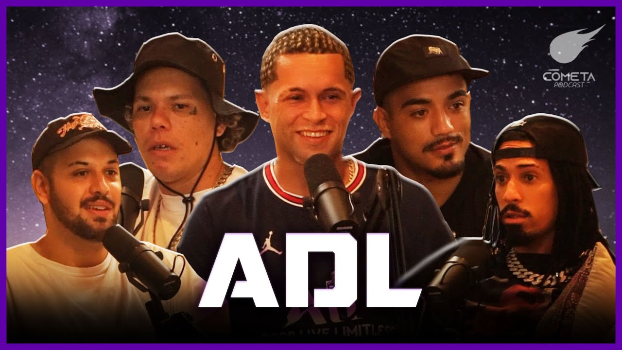 Download ADL - (LORD, DK47 E ÍNDIO) I Cometa Podcast #44