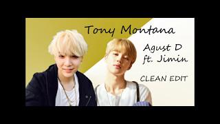 Agust D ft. Jimin - Tony Montana CLEAN (SeoulRaindrops studio vers.)